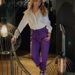 Pantalon violette
